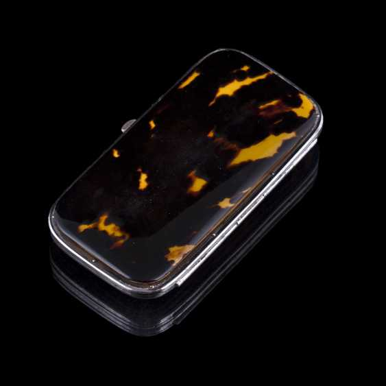 Case for cigaril made of tortoise shell - photo 2