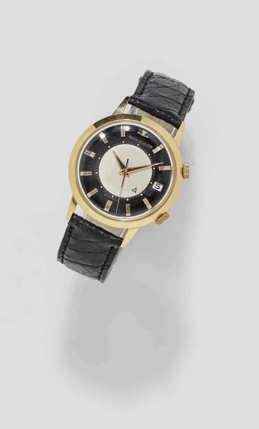 Men's wristwatch with alarm clock. Switzerland, around 1960, JAEGER-LECOULTRE, MEMOVOX, Ref: 855 - photo 1