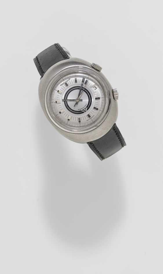 Men's wristwatch with alarm clock. Switzerland, around 1969, JAEGER-LECOULTRE, MEMOVOX GT, Ref: E861 - photo 1