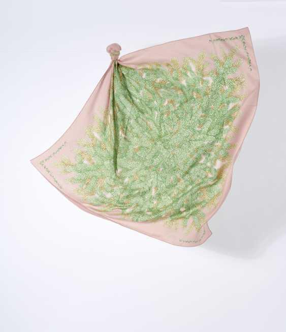 """Tuch Cheche """"Ombelles"""". Hermès, Paris Entwurf Antoine de Jaquelot 2002. Ausführung 2002 - Foto 1"""