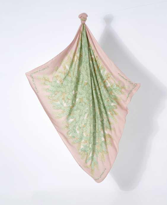 """Tuch Cheche """"Ombelles"""". Hermès, Paris Entwurf Antoine de Jaquelot 2002. Ausführung 2002 - Foto 2"""