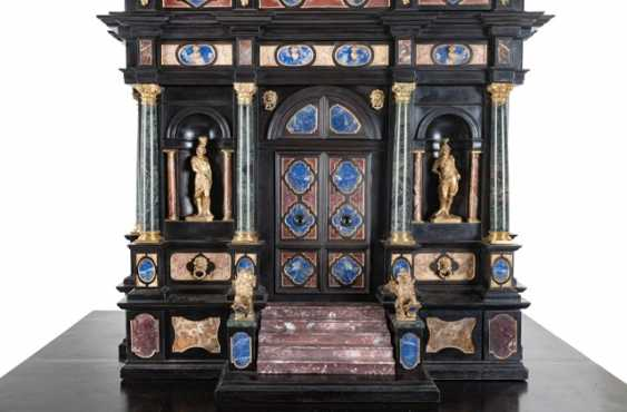 Magnificent Pietra Dura Cabinet, Italy, 19. Century - photo 6