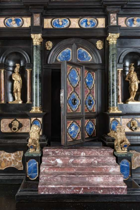 Magnificent Pietra Dura Cabinet, Italy, 19. Century - photo 7
