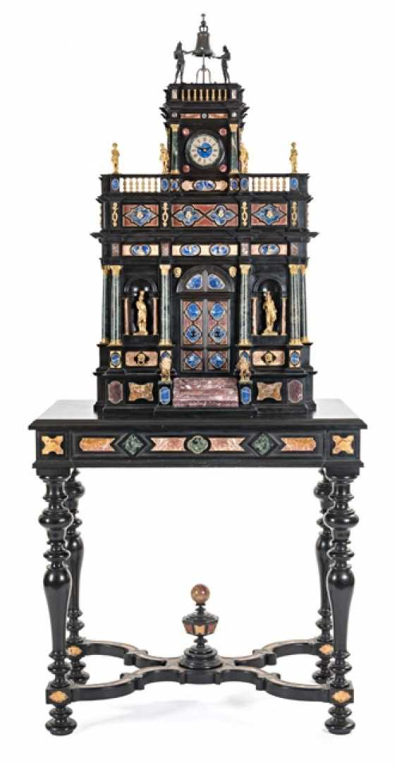 Magnificent Pietra Dura Cabinet, Italy, 19. Century - photo 2