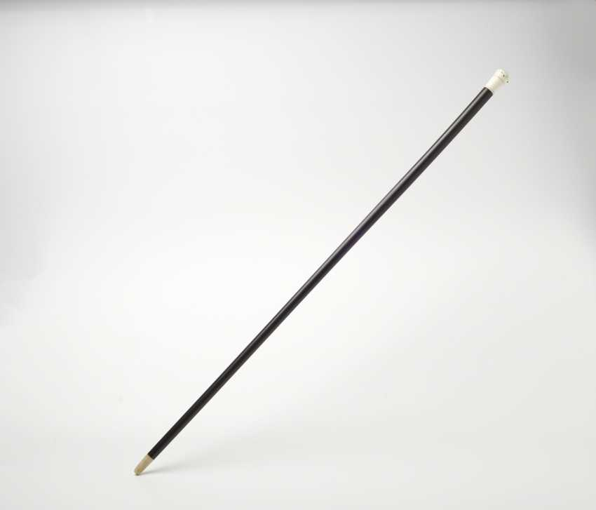 Walking stick with clock. Probably Switzerland, 2. Half of the 19th century. Century. - photo 2