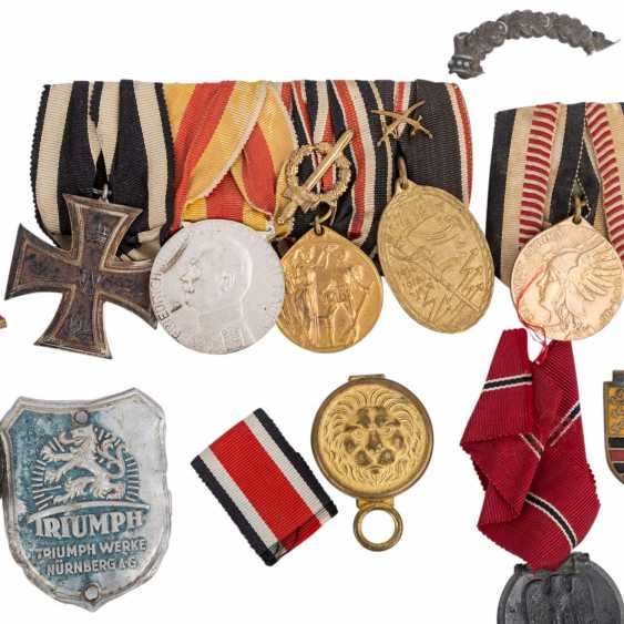 Dt. States before 1918 and the German Reich from 1933 to 1945 - medal and awards, - photo 6