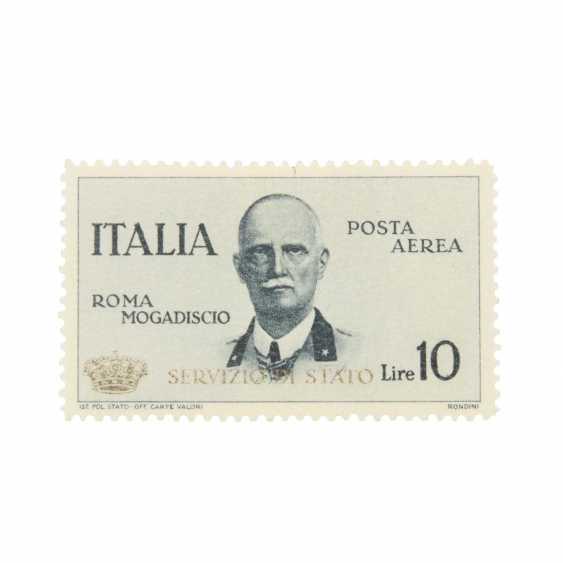 Italy - 1934, Service Mark, Mi.Nr. 10, Falzfehler, - photo 1