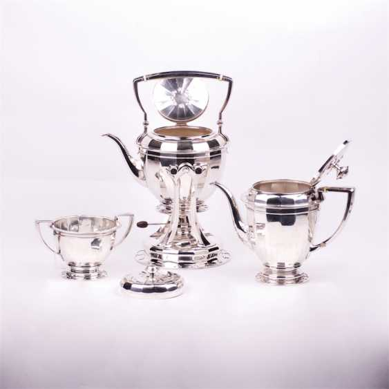 Silver tea set of 3 items - photo 2