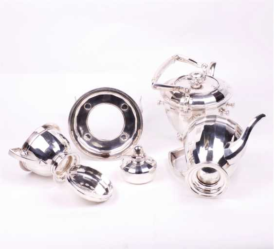 Silver tea set of 3 items - photo 3