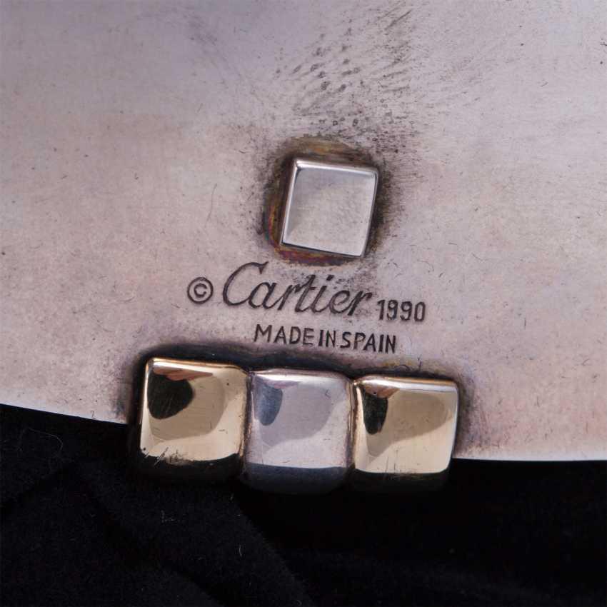 Silver tray Cartier - photo 4