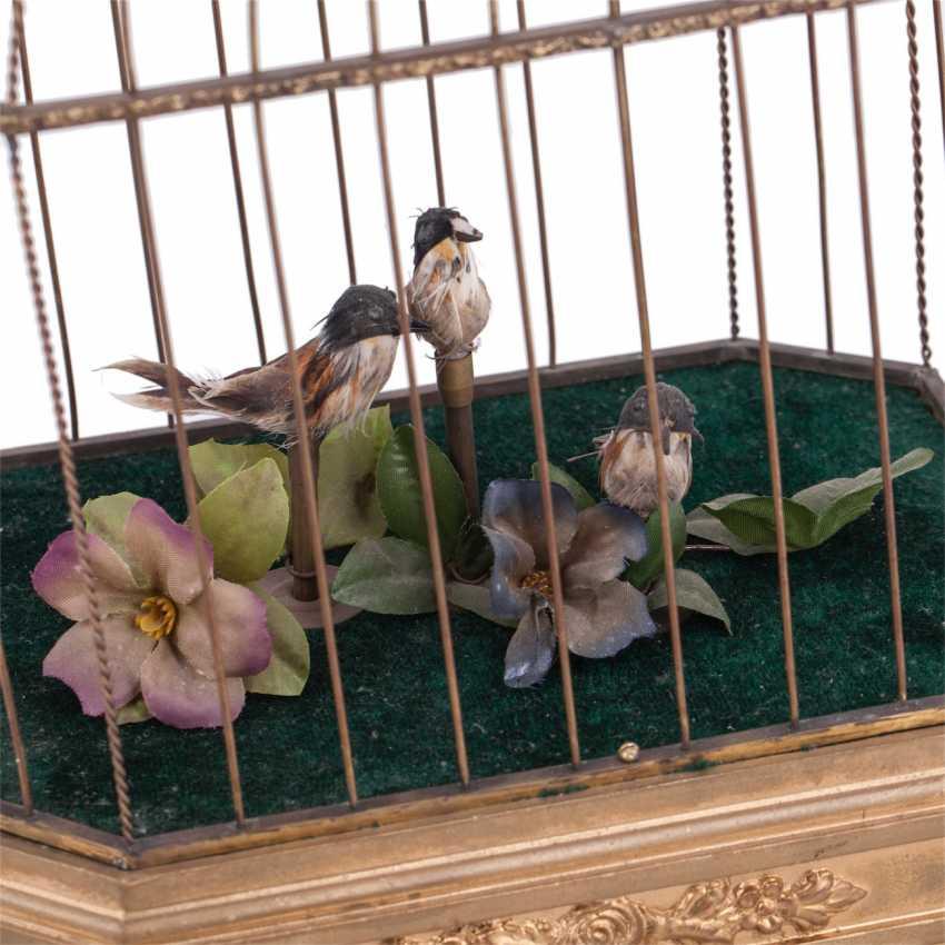 Vintage musical birdcage - photo 2