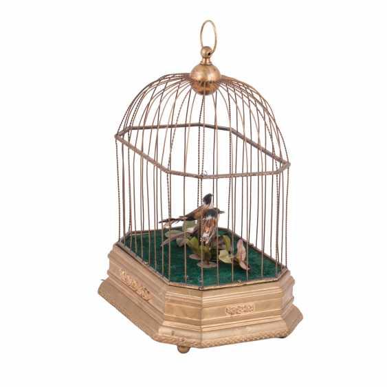 Vintage musical birdcage - photo 3