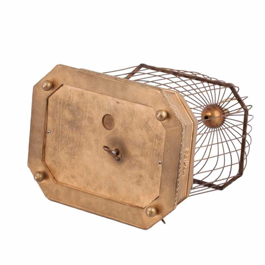 Vintage musical birdcage - photo 5