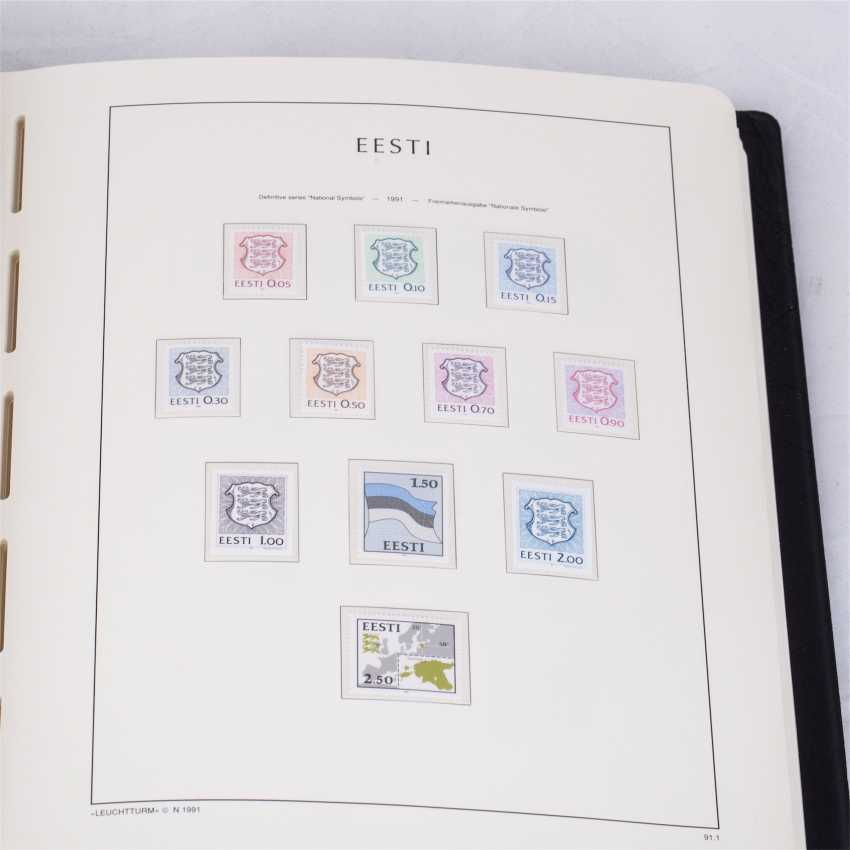 Collection of postage stamps of the Republic of Estonia - photo 2