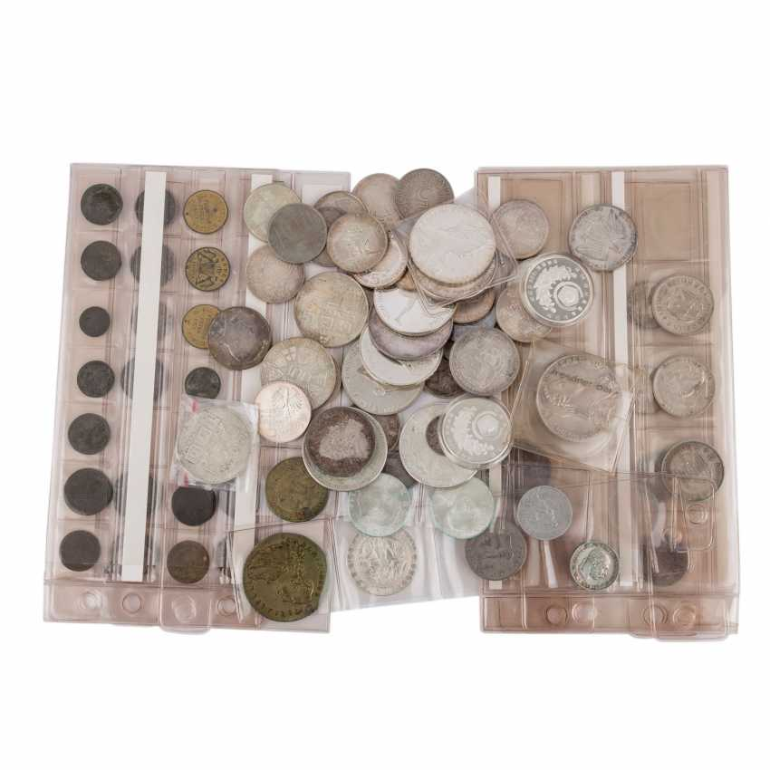 Eclectic collection of coins and medals with SILVER - photo 1