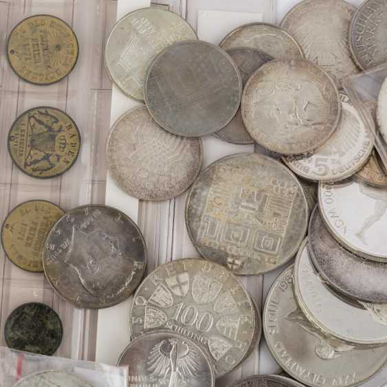 Eclectic collection of coins and medals with SILVER - photo 5