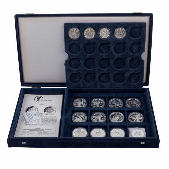 Olympic games 1994, 1996 and 1998, Box part of collection - photo 1