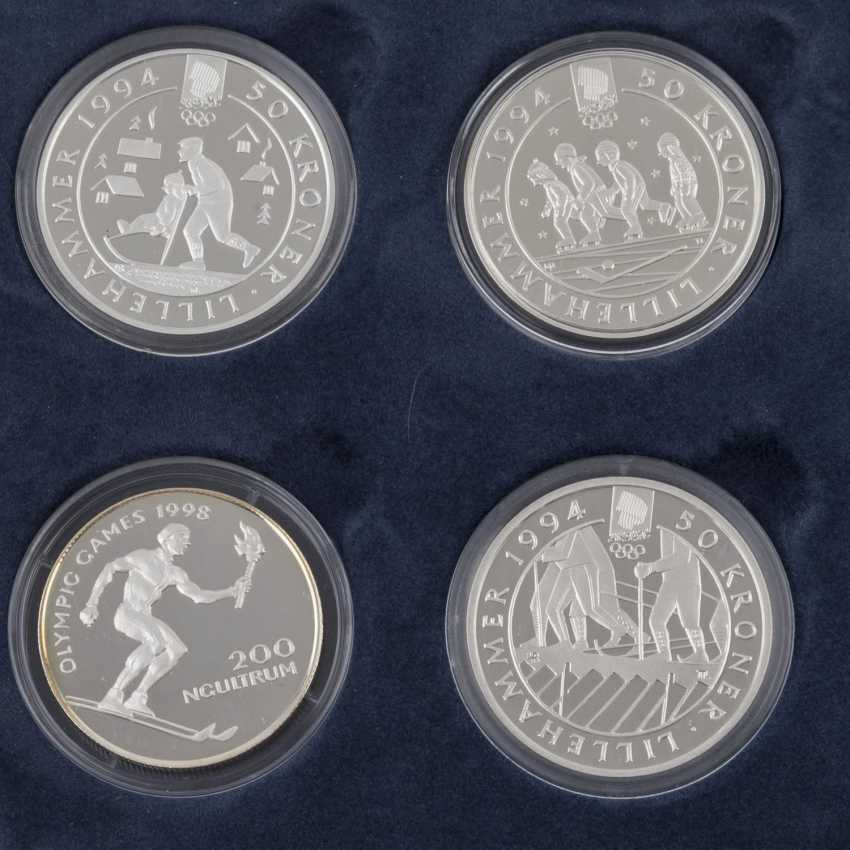 Olympic games 1994, 1996 and 1998, Box part of collection - photo 3