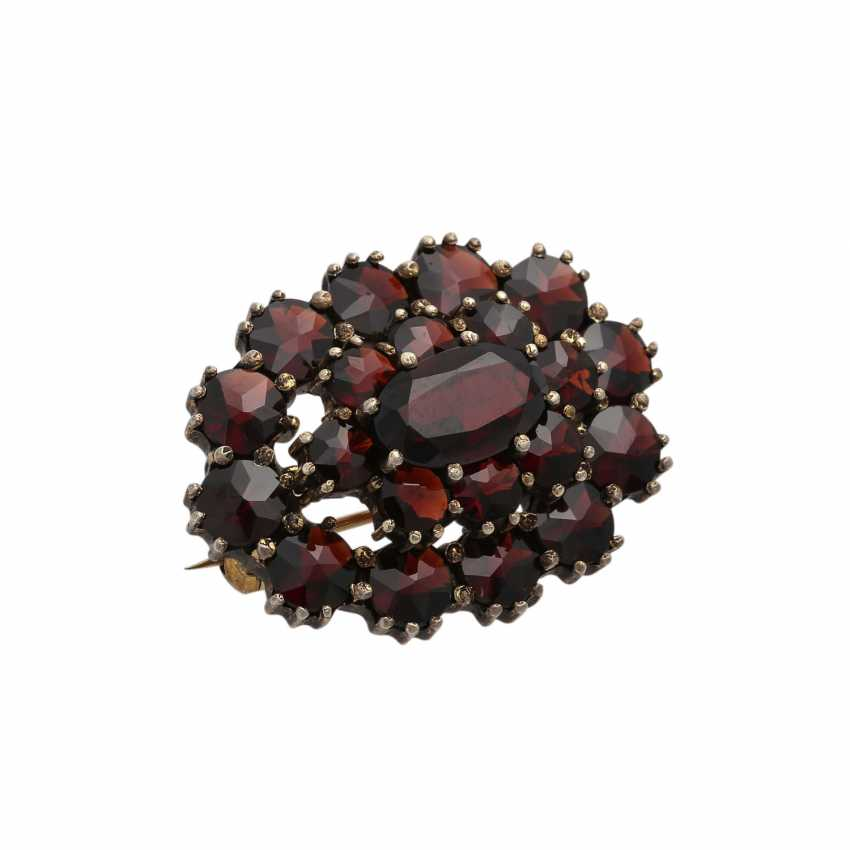 Collection Of Garnet Jewelry, - photo 4