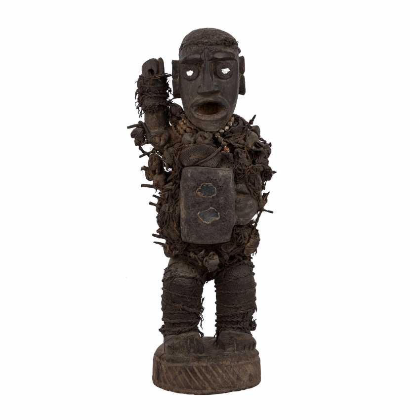 Nail Fetish Figure. OF THE CONGO/AFRICA. - photo 1