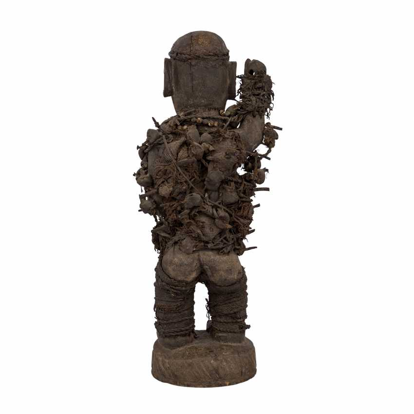 Nail Fetish Figure. OF THE CONGO/AFRICA. - photo 3