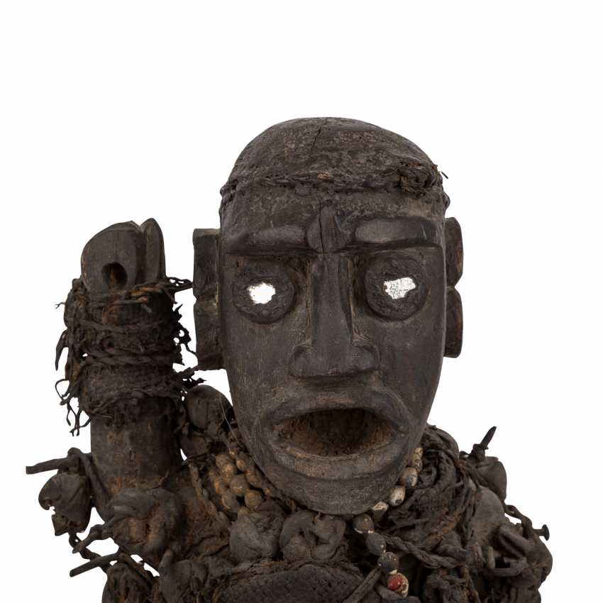 Nail Fetish Figure. OF THE CONGO/AFRICA. - photo 5