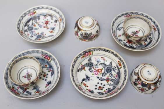 Four Vienna Porcelain cups with sauce, painted, 18.century - photo 3