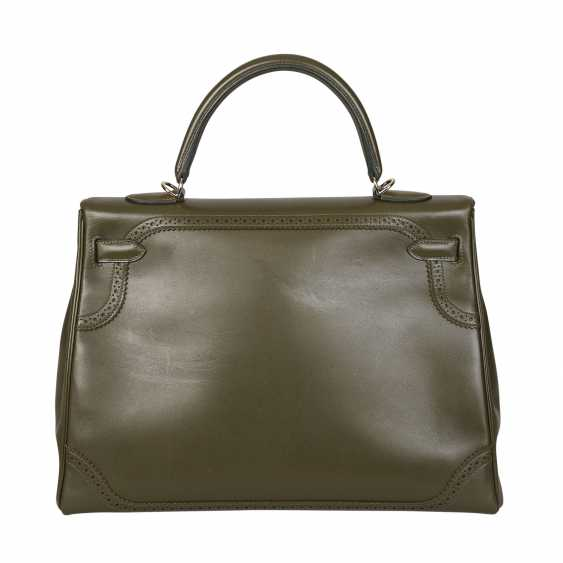 "HERMÈS handbag ""KELLY BAG-GHILLIES 35"", collection: 2011, newprice: approx. to 15.000,-€. - photo 4"