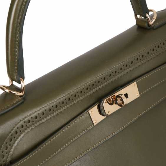 "HERMÈS handbag ""KELLY BAG-GHILLIES 35"", collection: 2011, newprice: approx. to 15.000,-€. - photo 6"