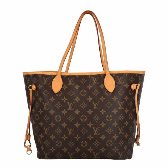"LOUIS VUITTON x Kampen shopper tote bag ""NEVERFULL MM"", collection: 2015, original price: approx. € 1.300,-€. - photo 4"