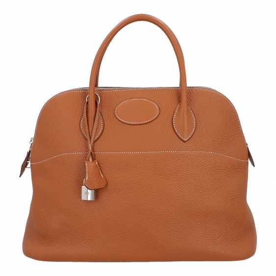 "HERMÈS handle bag ""BOLIDE"", collection: 2005. - photo 1"