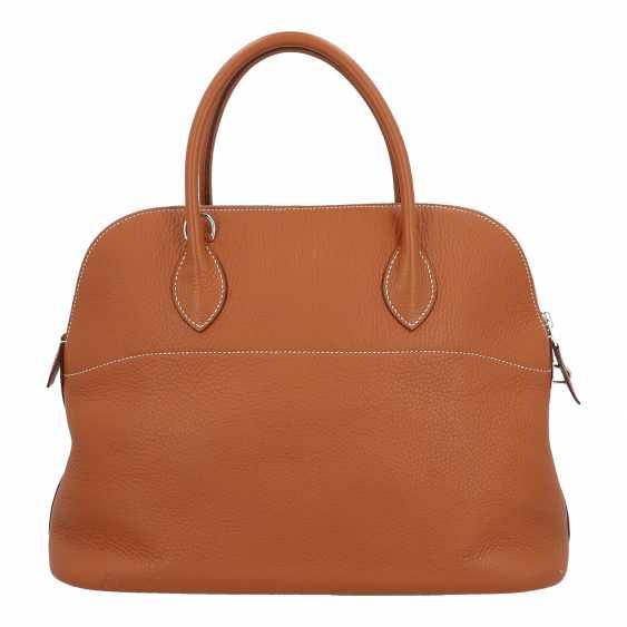 "HERMÈS handle bag ""BOLIDE"", collection: 2005. - photo 4"