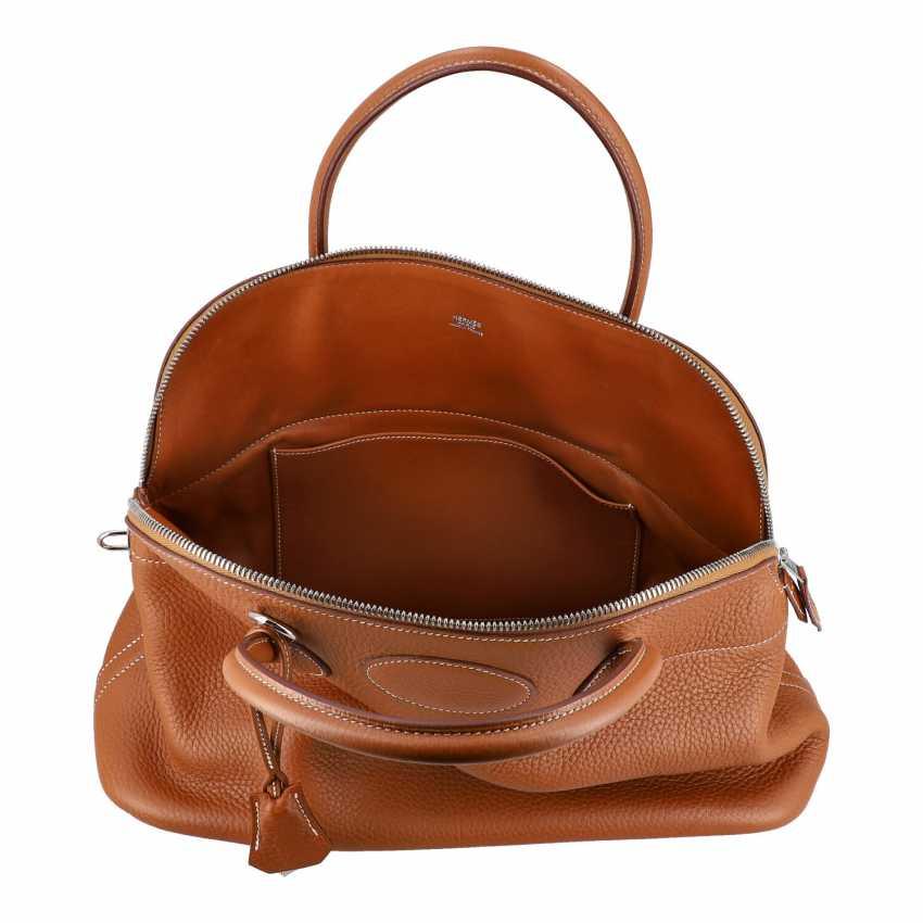 "HERMÈS handle bag ""BOLIDE"", collection: 2005. - photo 6"