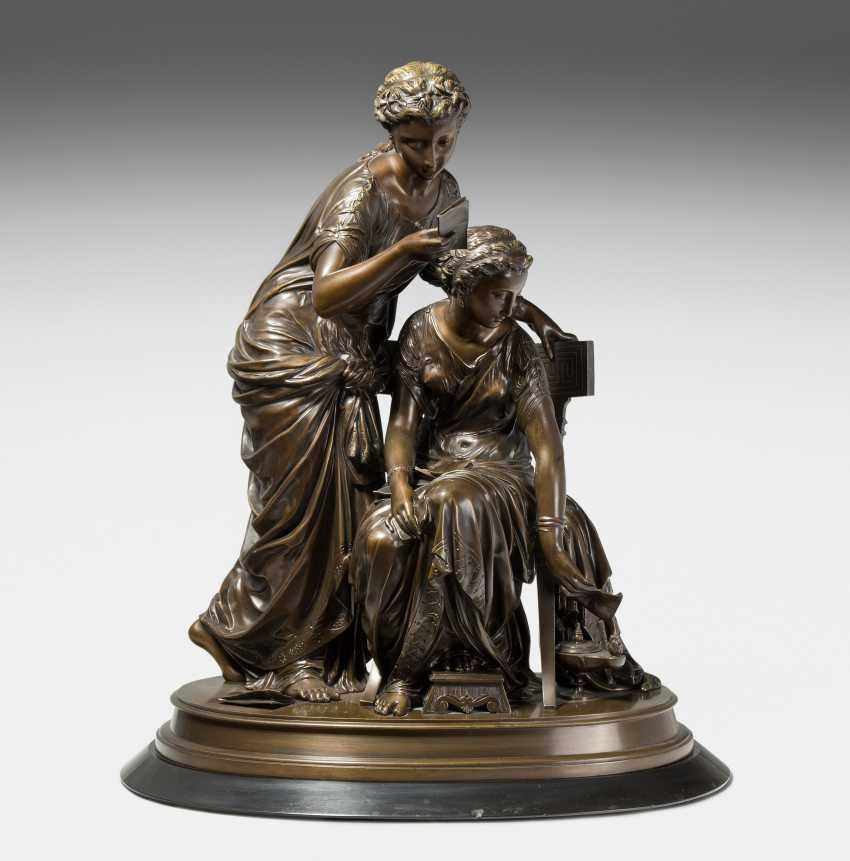 Figurengruppe, Jean-Louis Grégoire (1840-1890)