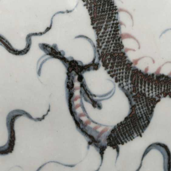 Ming Dynasty Dragon Cloud Pattern Plum Bottle - photo 6