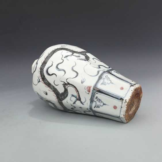 Ming Dynasty Dragon Cloud Pattern Plum Bottle - photo 9