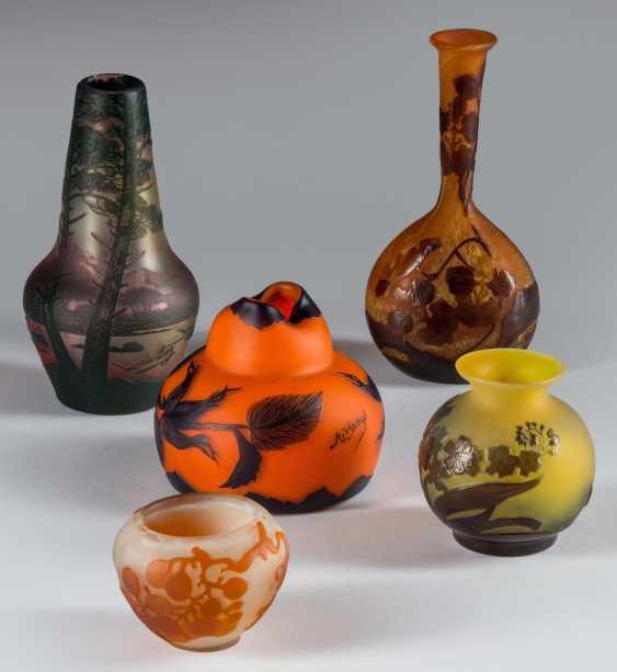 Kleine Vase Gallé - photo 2