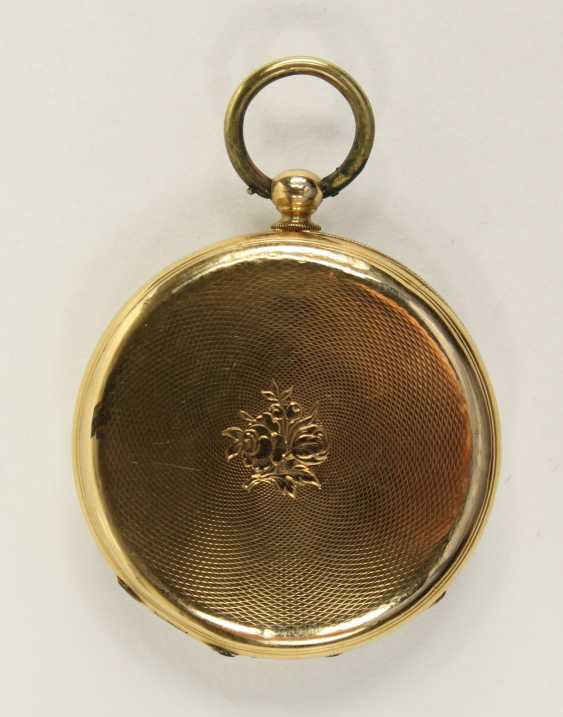 Gold Man's Pocket Watch, - photo 2