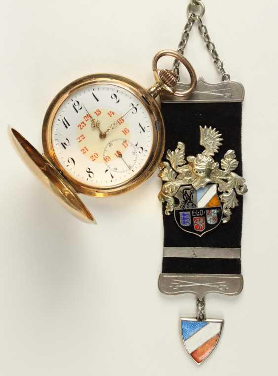 Gold Man's Pocket Watch, - photo 1