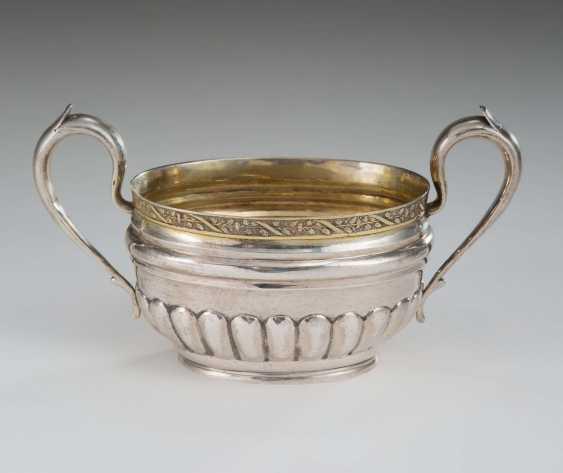 Sugar bowl with handles - photo 1