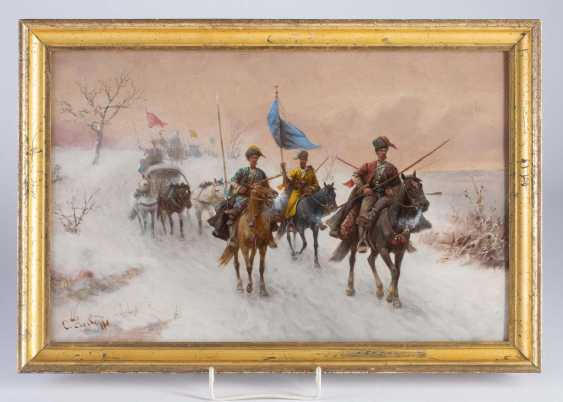 "Painting ""Cossack on horseback"". - photo 1"
