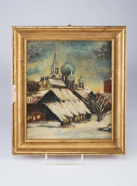"Painting ""Russian Church - photo 1"