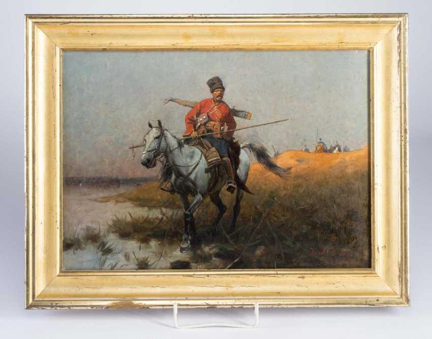 Paintings Of Cossack Riders. - photo 1