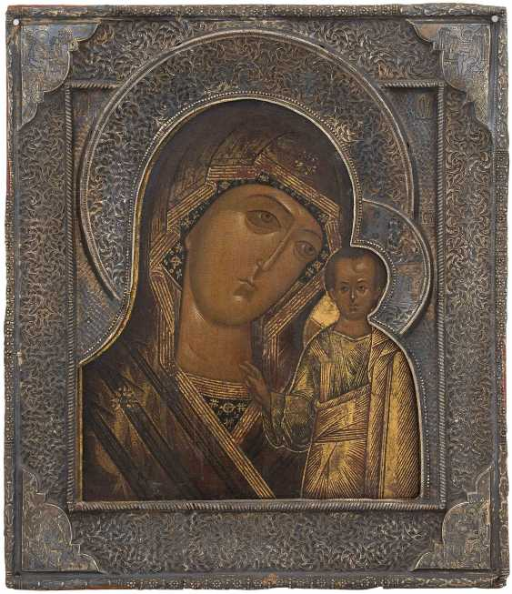 Mother of God of Kazan with Silberbasma