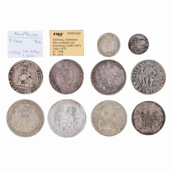 Spannendes 10-teiliges Konvolut Münzen und Medaillen, 16./17./18. Jahrhundert, - - Foto 1