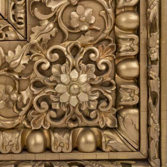 """FLORENTINER MEISTER, Italien 16./17. Jahrhundert, Umkreis/Nachfolge RAFFAEL, """"Heilige Familie mit Johannesknaben"""", - Foto 3"""