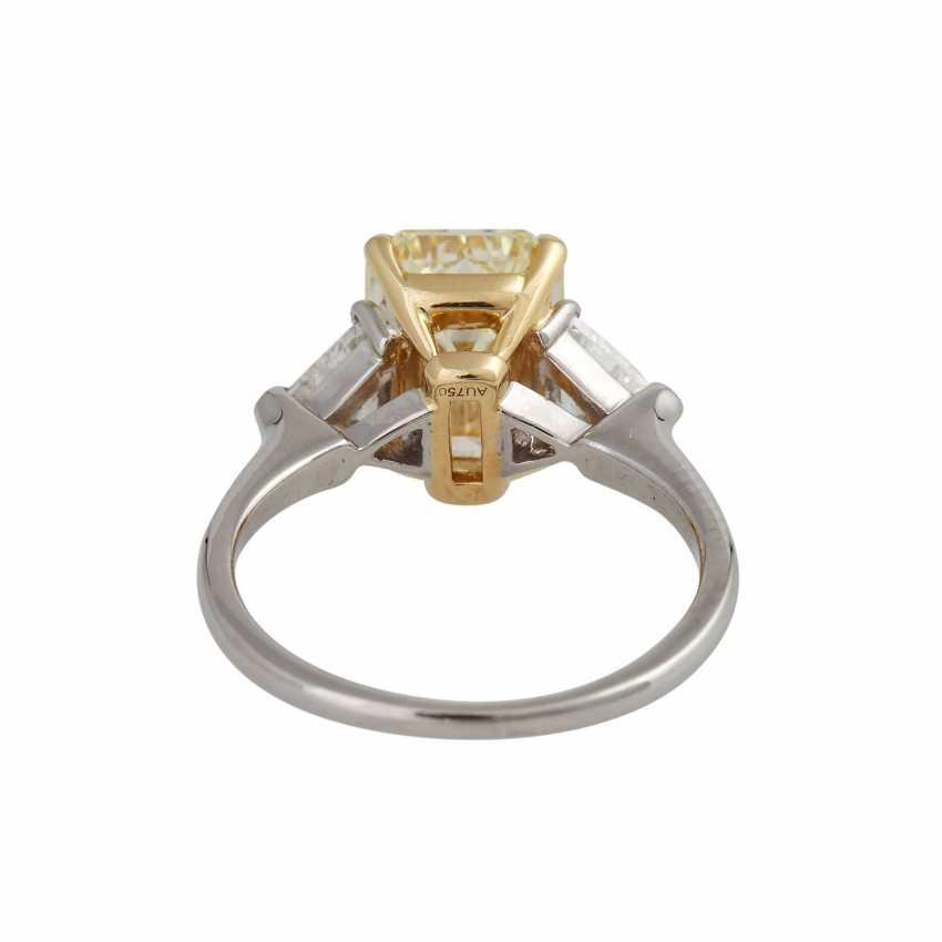 GRAFF Ring with yellow diamond 3,09 ct, - photo 4