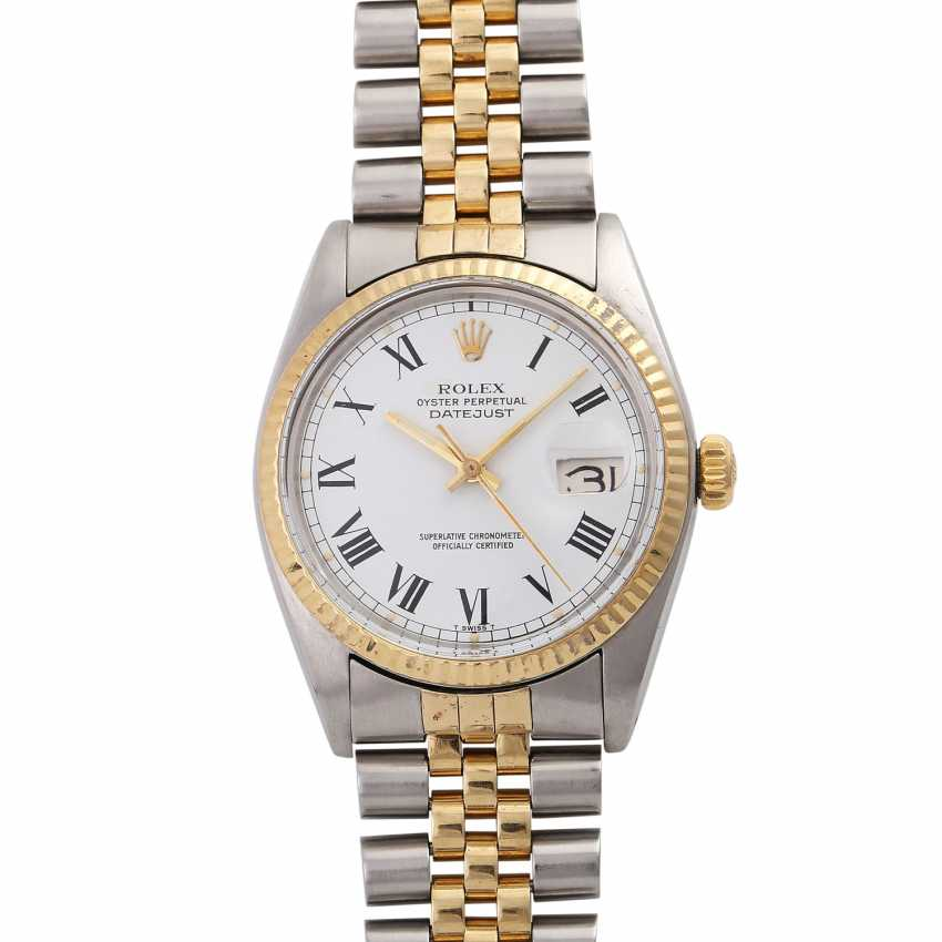 ROLEX Oyster perpetual Datejust men's watch, Ref. 16013, approx. 1970/80s. - photo 1