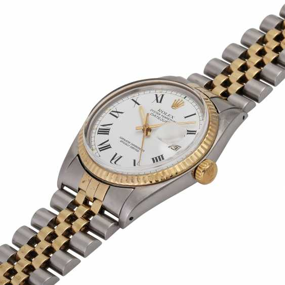 ROLEX Oyster perpetual Datejust men's watch, Ref. 16013, approx. 1970/80s. - photo 4