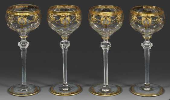 Набор из пятнадцати римских бокалов из благородной семьи - фото 1
